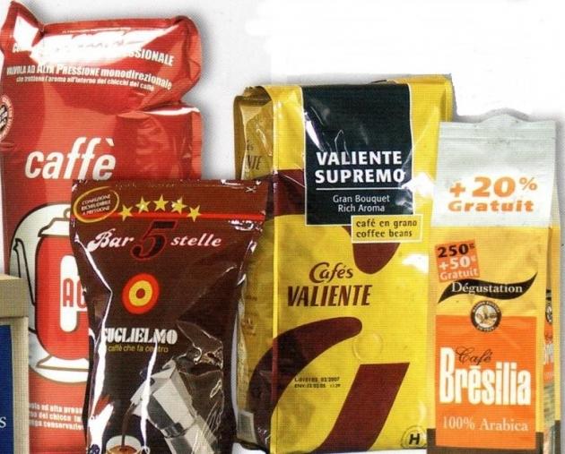 咖啡豆包裝預製袋<br> Coffee Bean Pre-made Bag 1