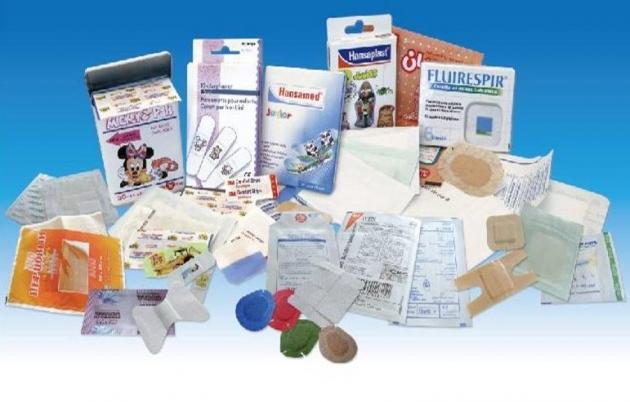 Eurosicma 歐洲司馬  自動敷料生產設備<br> High Speed Plaster Patches Process Line 1
